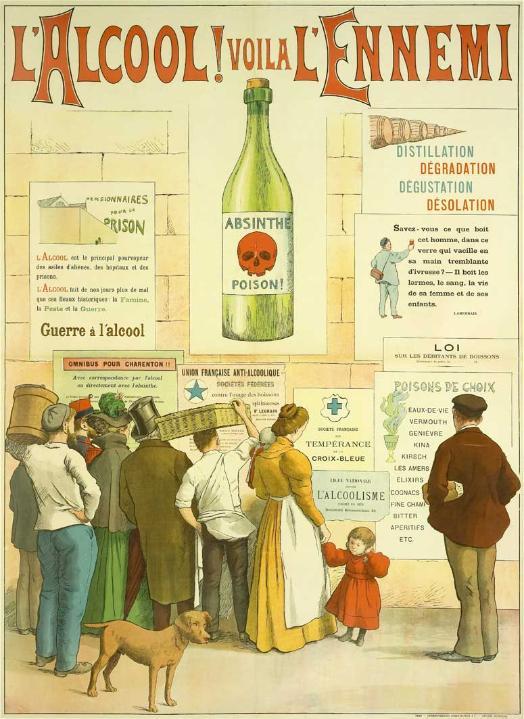 Affiche Alcool - Frédéric Christol